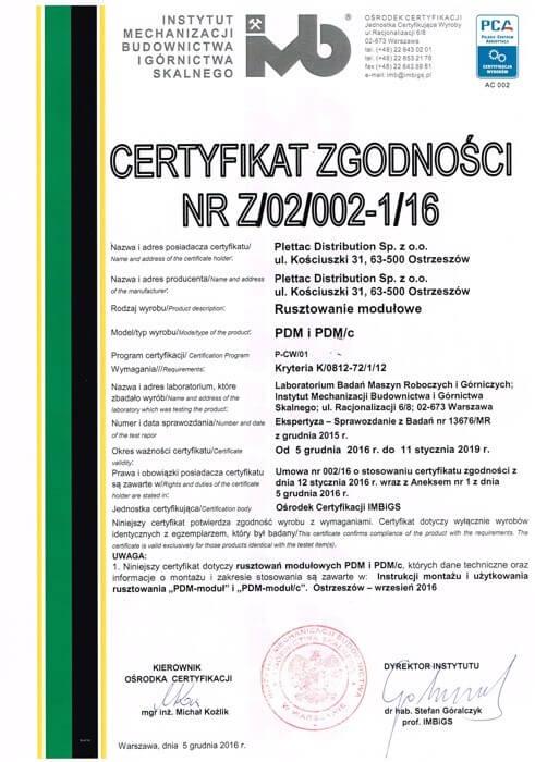 [;ettac distribution - certyfikaty