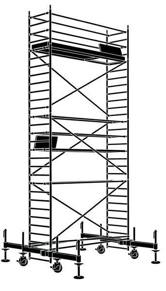 plettac distribution - rusztowania jezdne