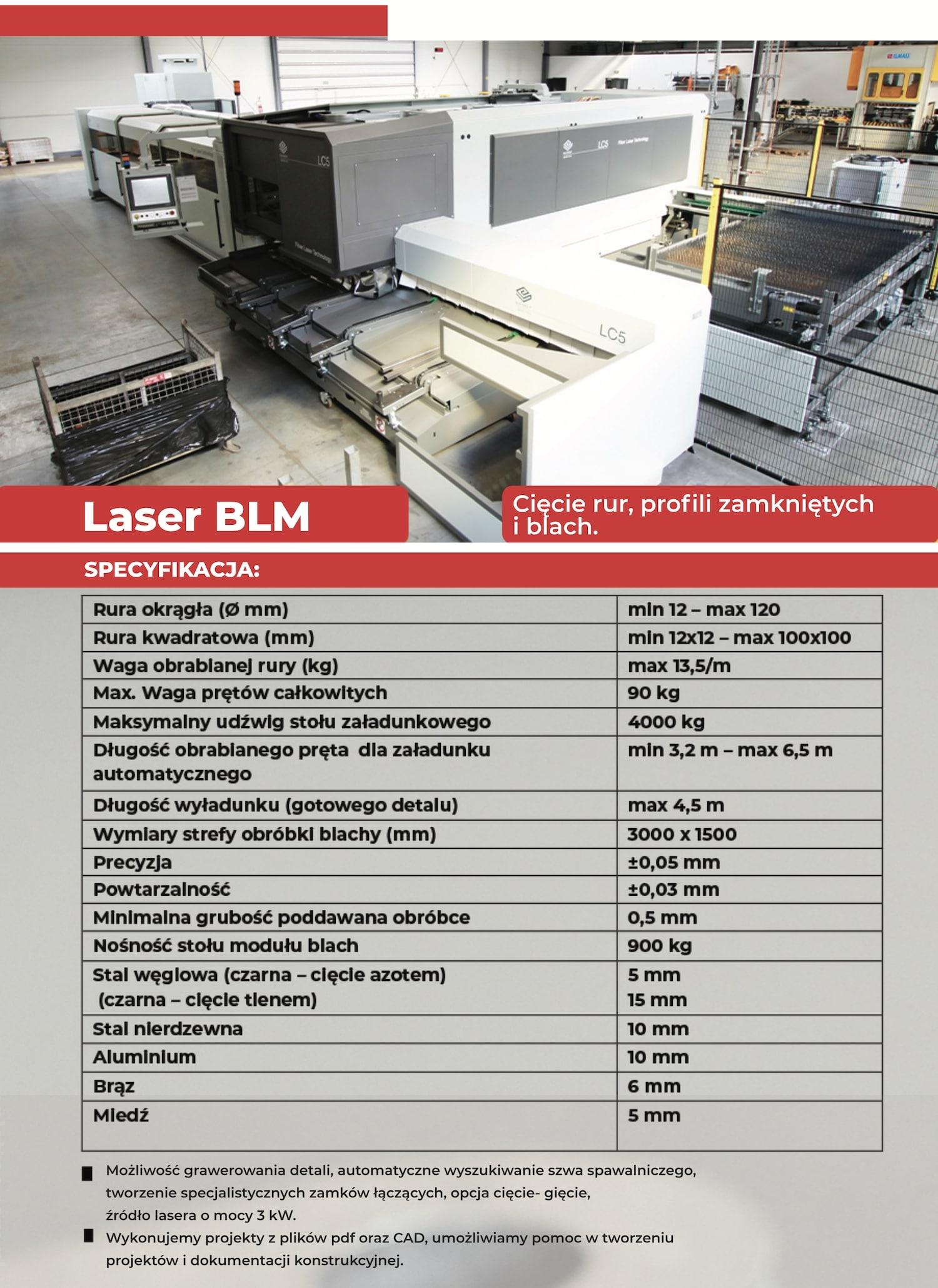 plettac.com.pl - usługi cięcia laserem