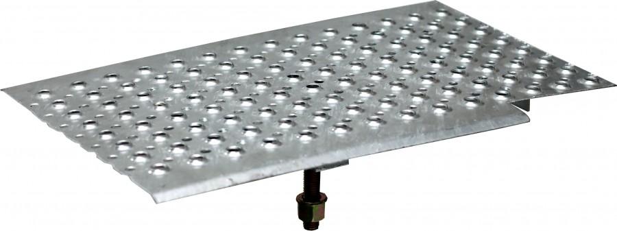 plettac distribution - Blacha zabezpieczająca do klatek schodowych
