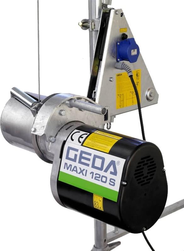 plettac distribution - Wciągarka elektryczna GEDA Maxi 120S
