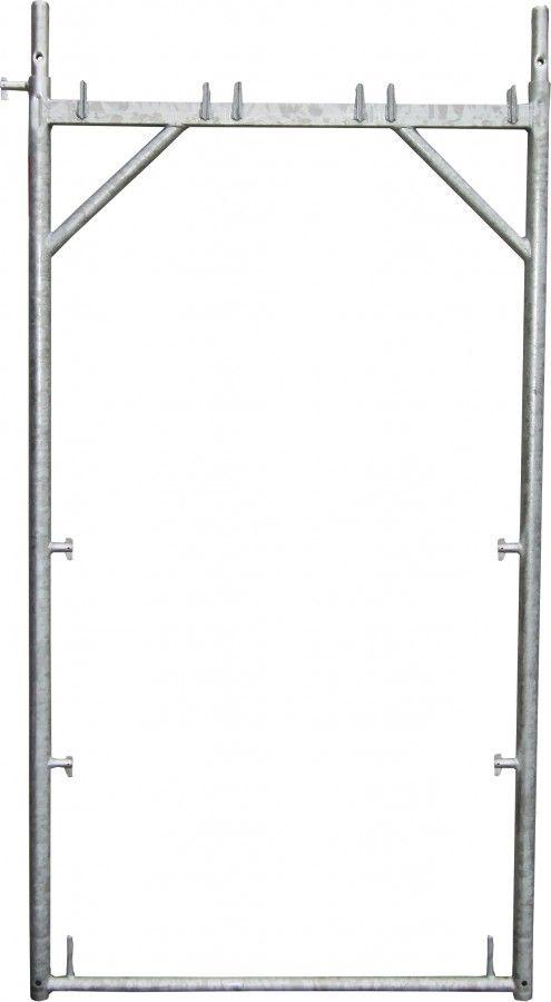 plettac distribution - Stahl-Vertikalrahmen PD 100 mit 4 Kippstiften