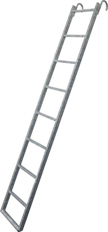 plettac distribution - Internal Steel Ladder with Hooks